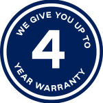 4 year warranty on backpacks