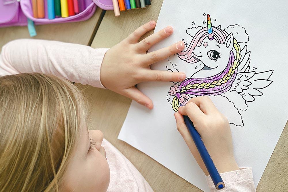 Tegne selv på Beckmanns illustrasjoner