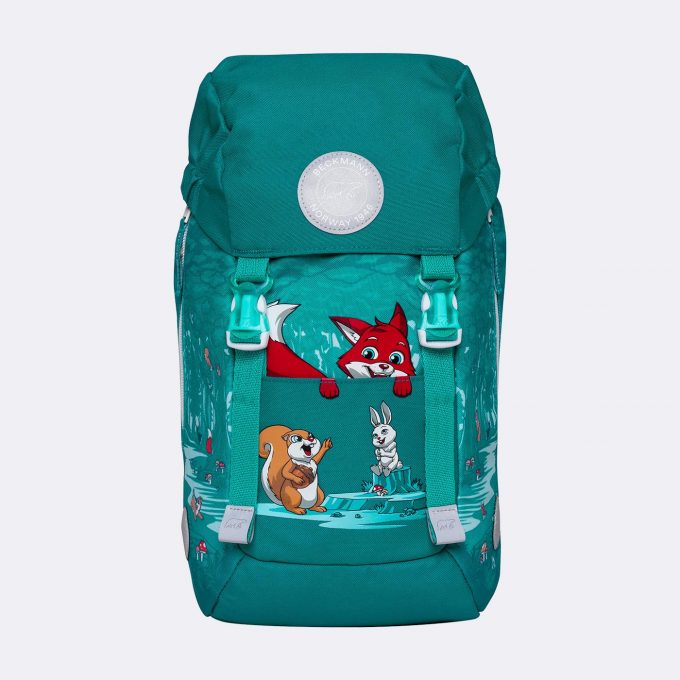 Classic mini, kindergarten backpack, forest