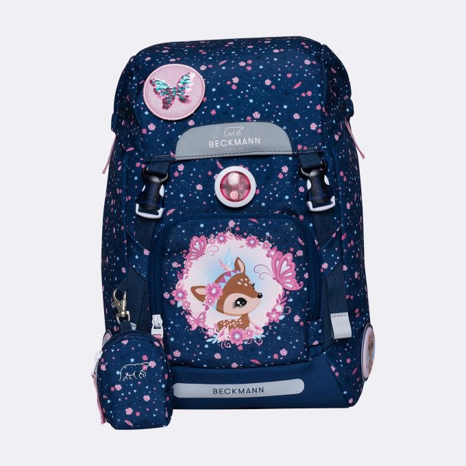 Classic 22 backpack, for 1-2nd grade, Forest Deer Blue
