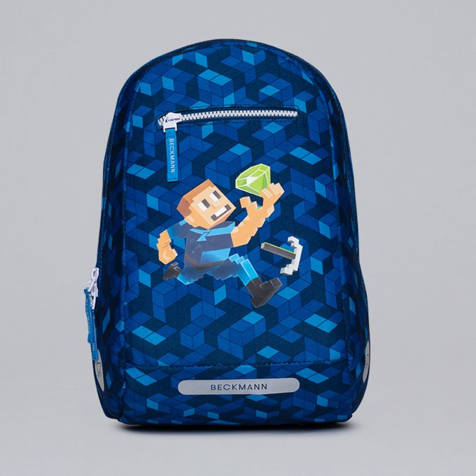 Gym/hiking backpack, for 1-2nd grade, Diamond hunter