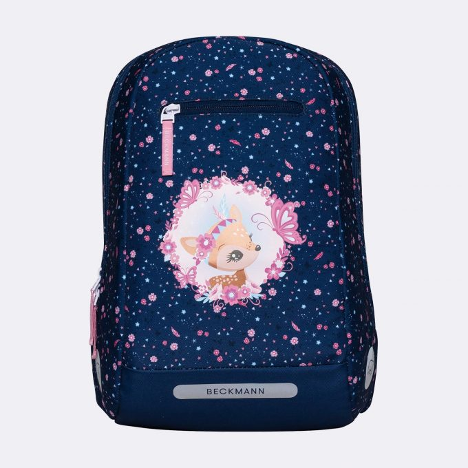 Gym/hiking backpack, 1-2nd grade, Forest Deer Blue