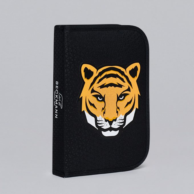 Single section pencil case, Tiger Team
