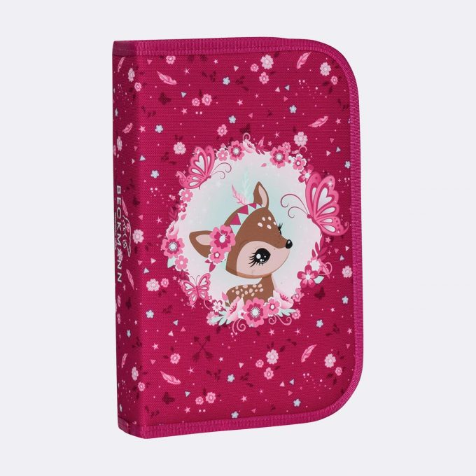 Single section pencil case, Forest Deer