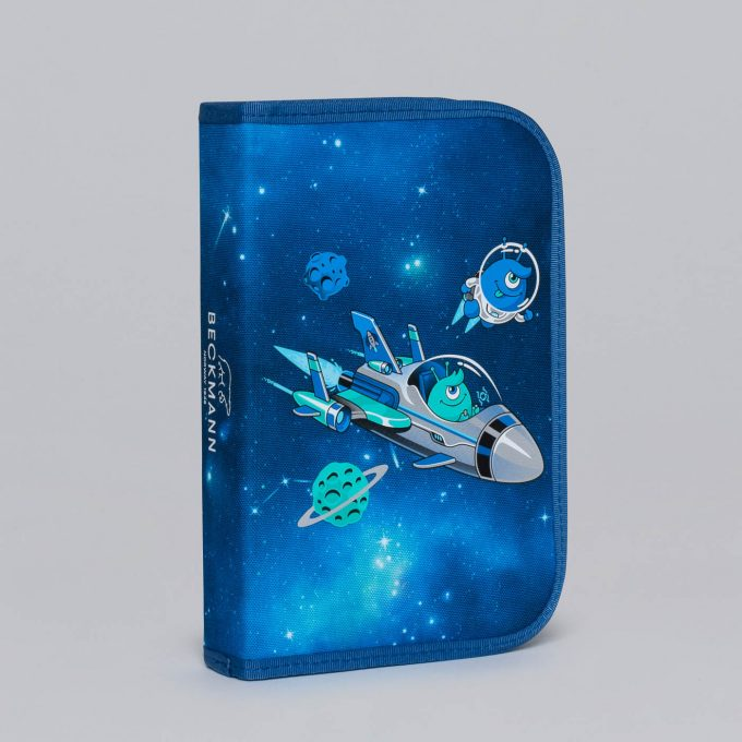 Single section pencil case, Galaxy
