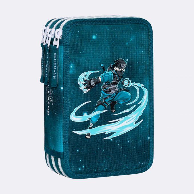 Three section pencil case, Ninja Master