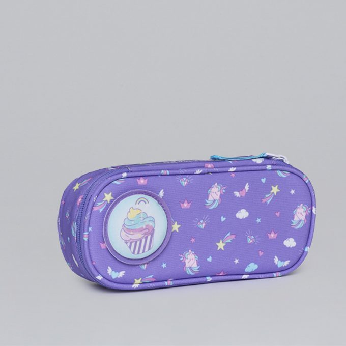 Oval pencil case, for 1-2nd grade, Dream