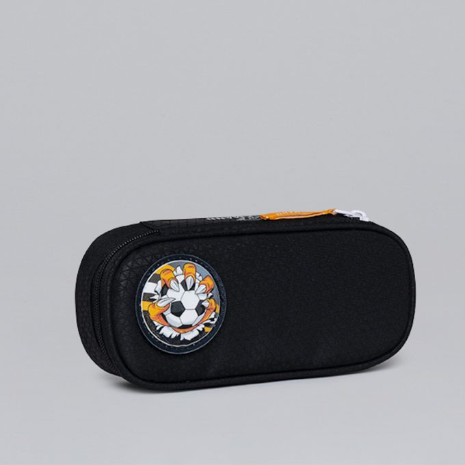 Oval pencil case, for 1-2nd grade,
