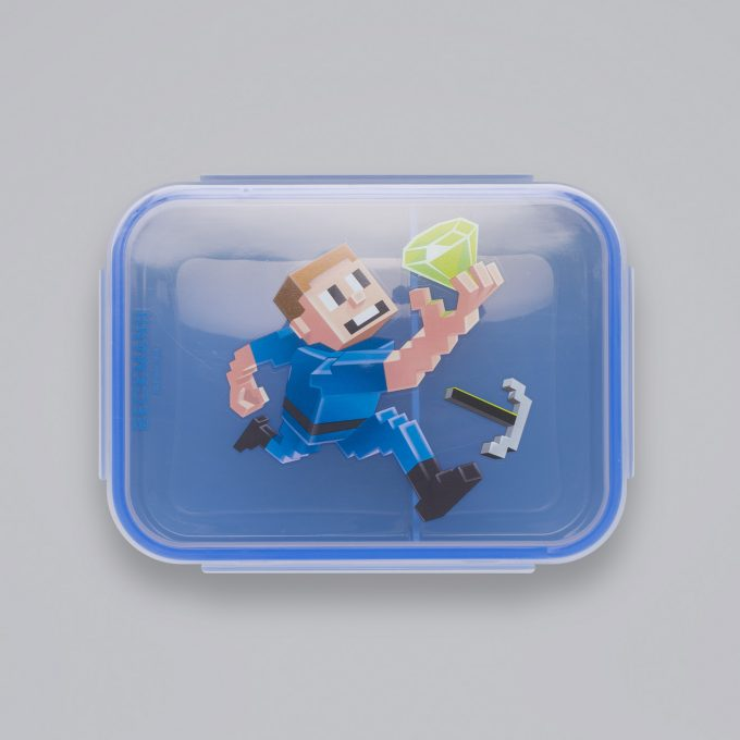 Lunch box, Diamond Hunter