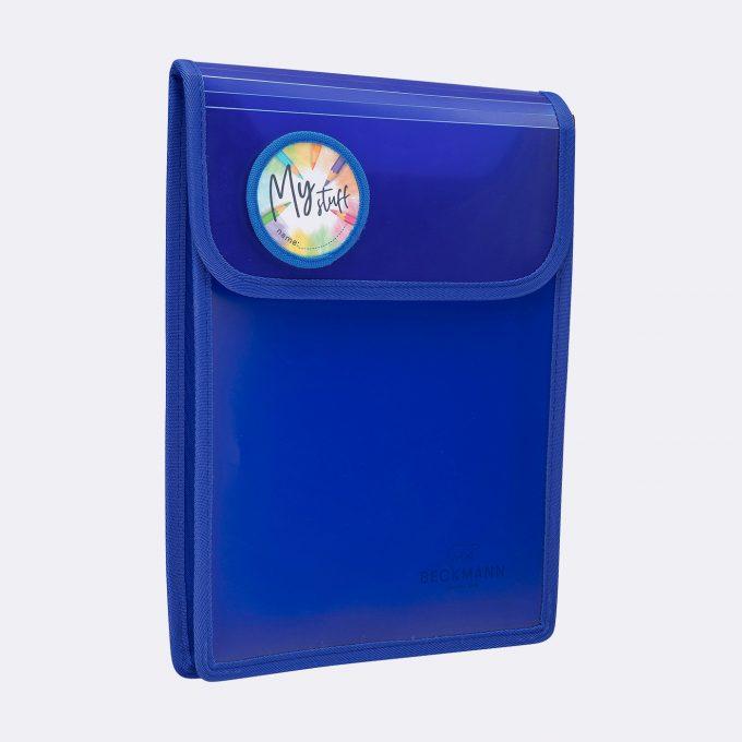 A4 folder, Blue