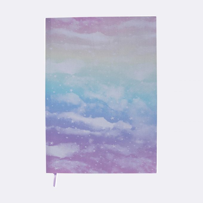 Elasticated book cover, Unicorn