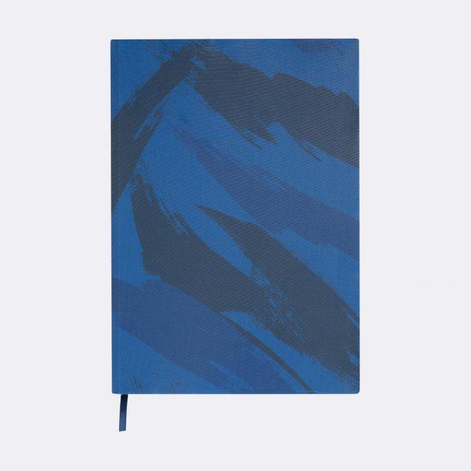 Elasticated book cover, Ninja Master Blue