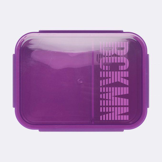 Lunch box, Purple