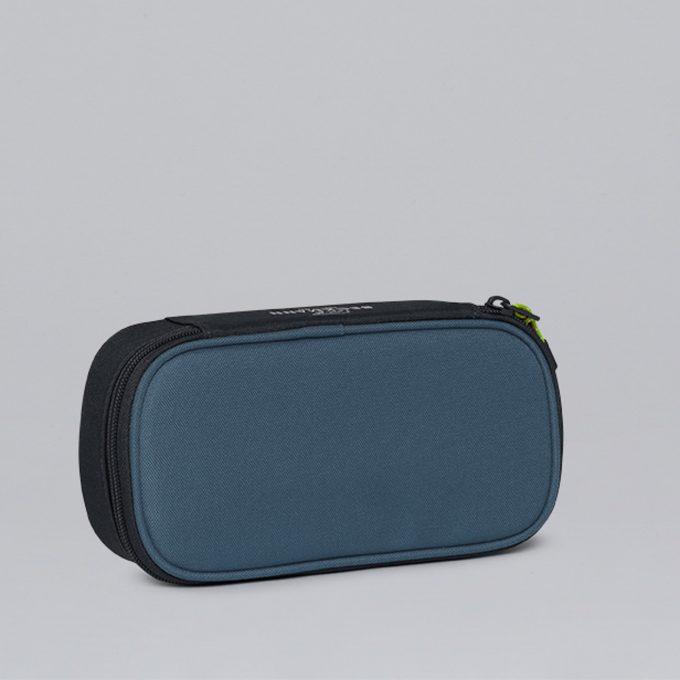Sport Junior oval pencil case, Colorblock Blue
