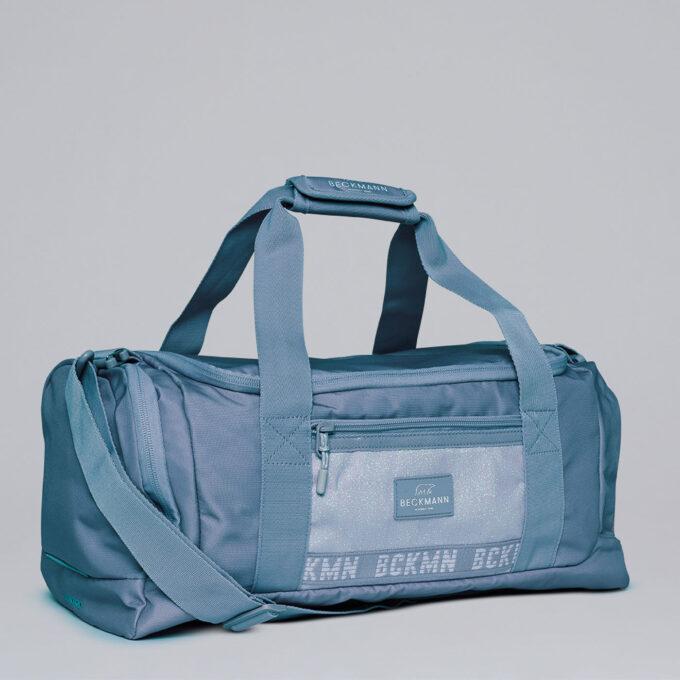 Sport duffelbag, 3-7th grade, Blue Glitter