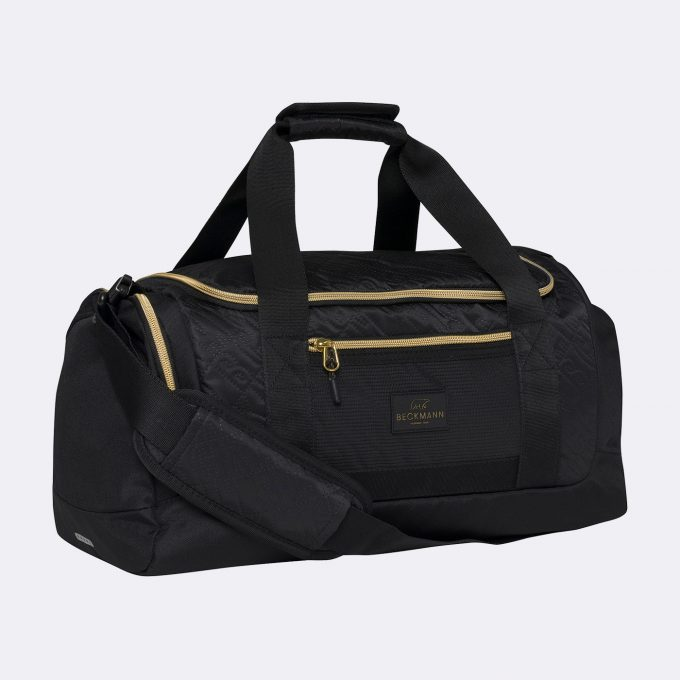 Sport duffelbag, 3-7th grade, Black/Gold